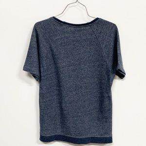 Everlane Tops - Everlane   Crewneck Short Sleeve Sweatshirt Blue
